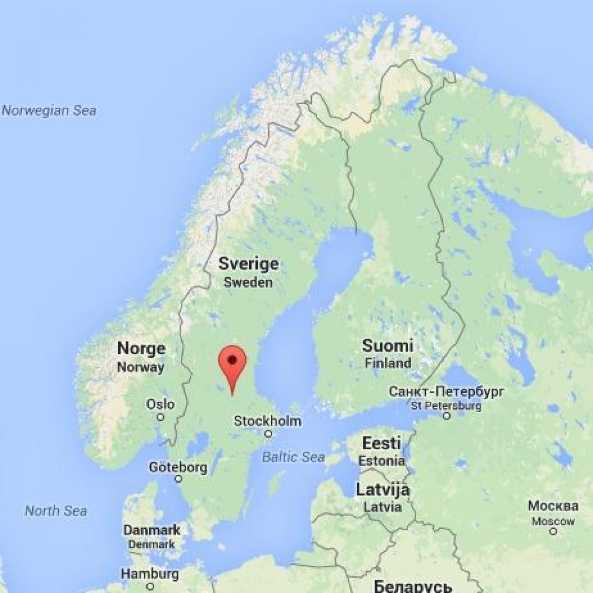 karta falun Фалуне Švedska   karta Falun Švedska (Sjeverna Europa   Europa) karta falun